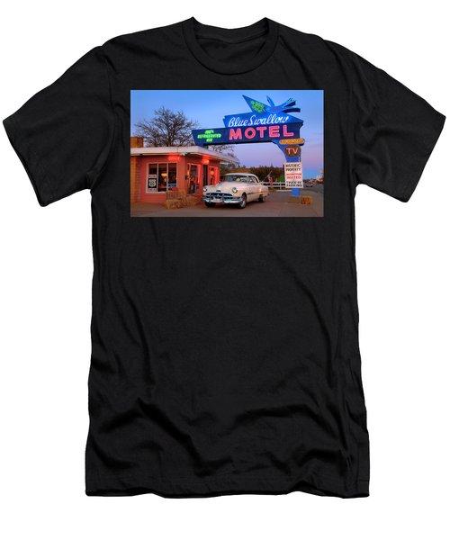 The Blue Swallow Men's T-Shirt (Athletic Fit)