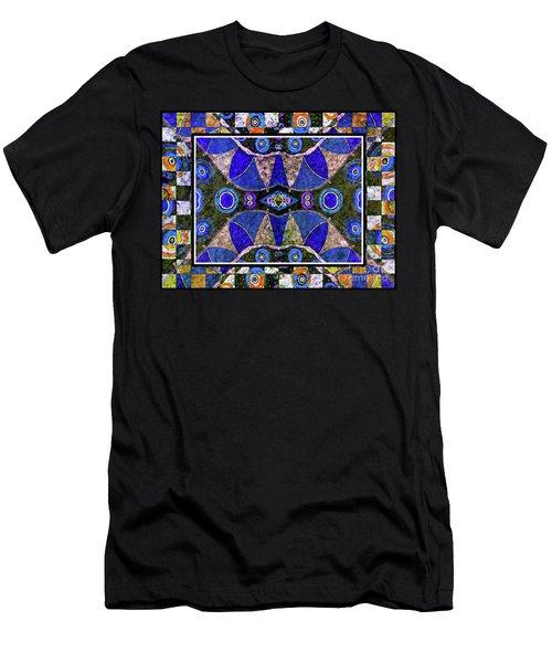 The Blue Vibrations Men's T-Shirt (Athletic Fit)