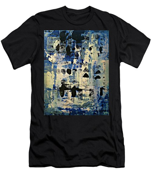 The Blues Abstract Men's T-Shirt (Athletic Fit)