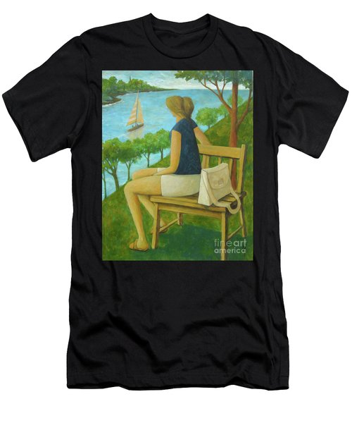The Bluff Men's T-Shirt (Athletic Fit)