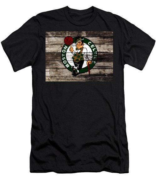 The Boston Celtics W10 Men's T-Shirt (Slim Fit) by Brian Reaves