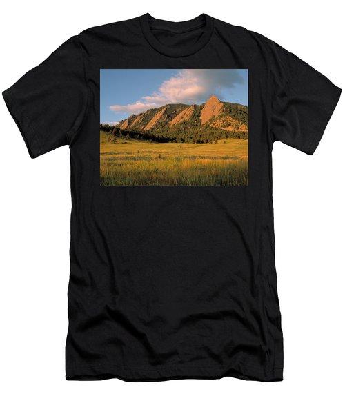 The Boulder Flatirons Men's T-Shirt (Athletic Fit)