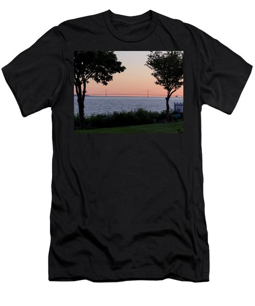 The Bridge From The Island Men's T-Shirt (Athletic Fit)