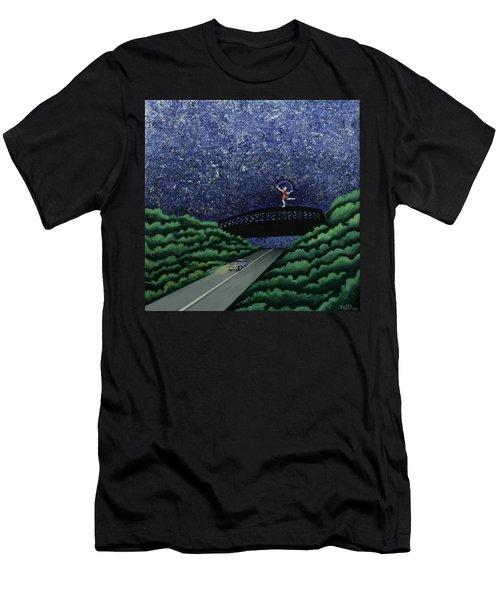 The Bridge II Men's T-Shirt (Athletic Fit)