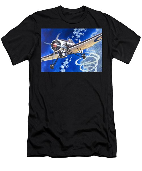 The Bristol 138a Attempts An Altitude Record Men's T-Shirt (Athletic Fit)