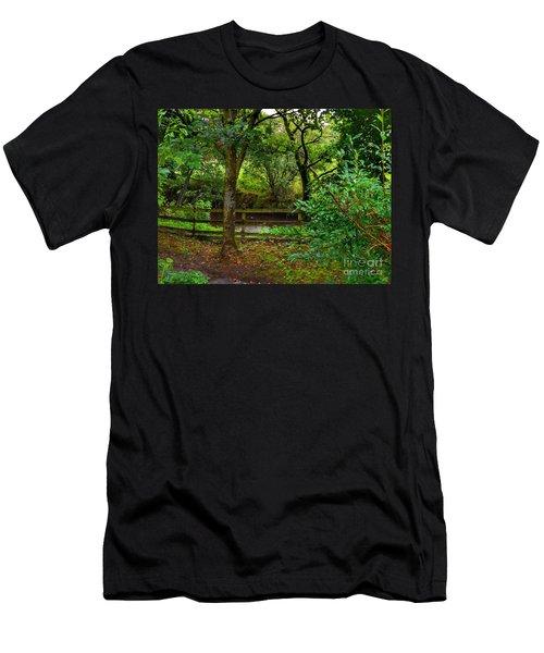 The Brook At Gibbon's Bridge Men's T-Shirt (Athletic Fit)
