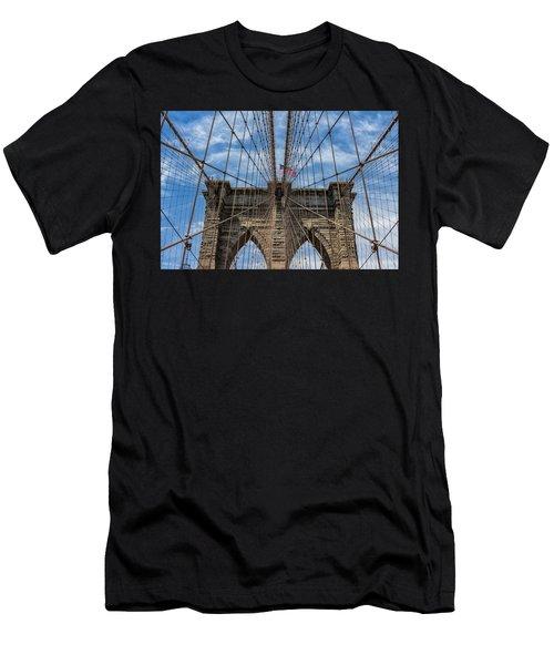 The Brooklyn Bridge Men's T-Shirt (Athletic Fit)