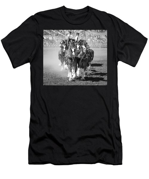 The Budweiser Clydesdales Men's T-Shirt (Athletic Fit)