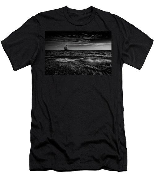 The Bug Light, Greenport Ny Men's T-Shirt (Athletic Fit)
