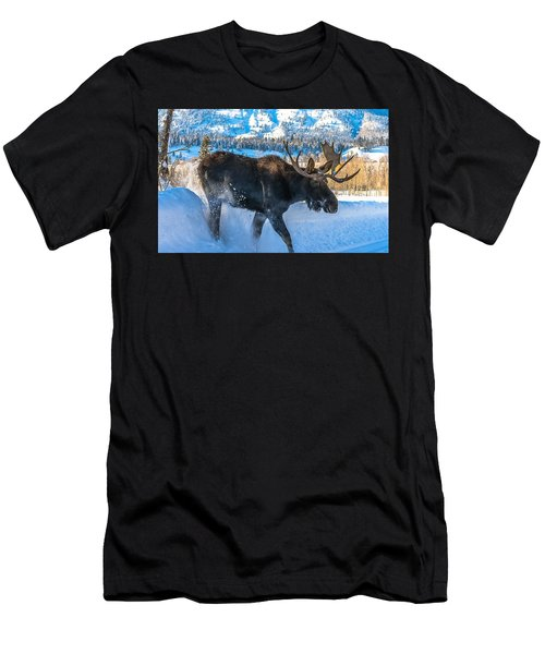 The Bulldozer Men's T-Shirt (Slim Fit) by Yeates Photography
