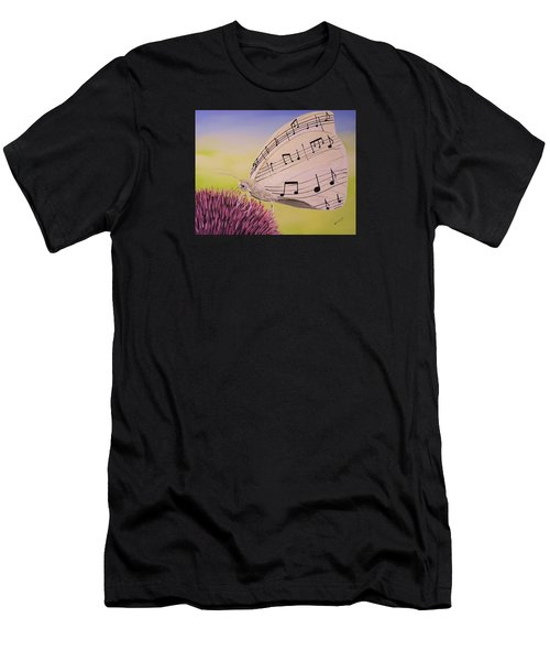 Butterfly Song Men's T-Shirt (Athletic Fit)