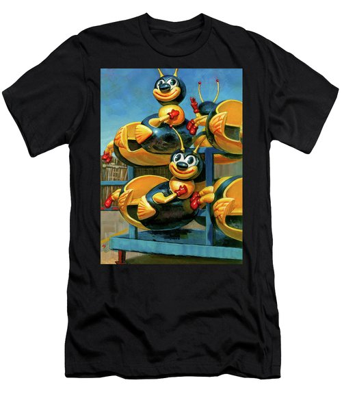 The Buzz Men's T-Shirt (Athletic Fit)