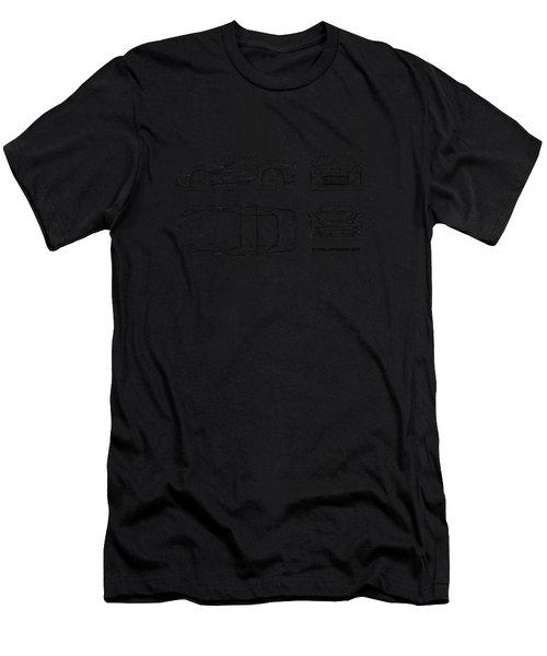 The California Blueprint Men's T-Shirt (Athletic Fit)
