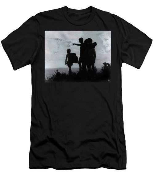 Men's T-Shirt (Athletic Fit) featuring the photograph The Call Centennial Cover Image by Wayne King