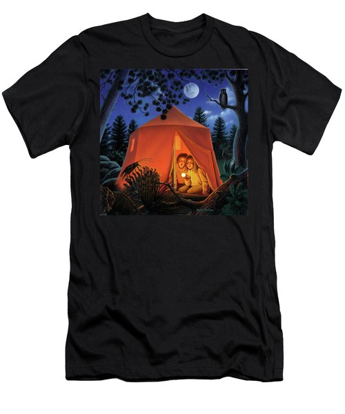 The Campout Men's T-Shirt (Athletic Fit)