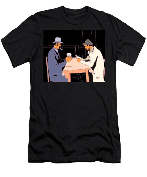 The Card Players Men's T-Shirt (Athletic Fit)