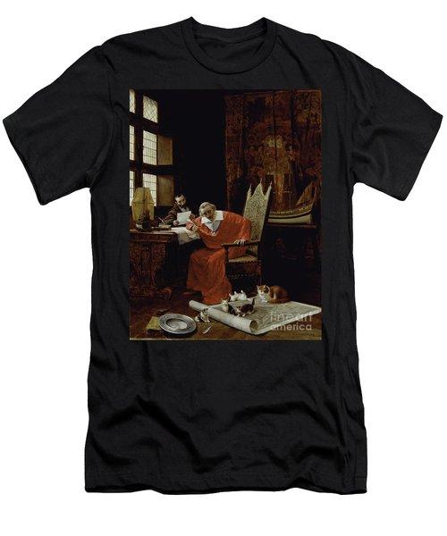 The Cardinal's Leisure  Men's T-Shirt (Athletic Fit)