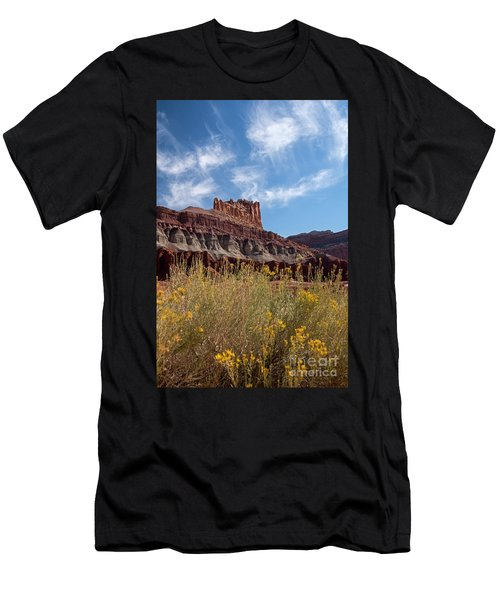 Rock Formation Capital Reef Men's T-Shirt (Athletic Fit)