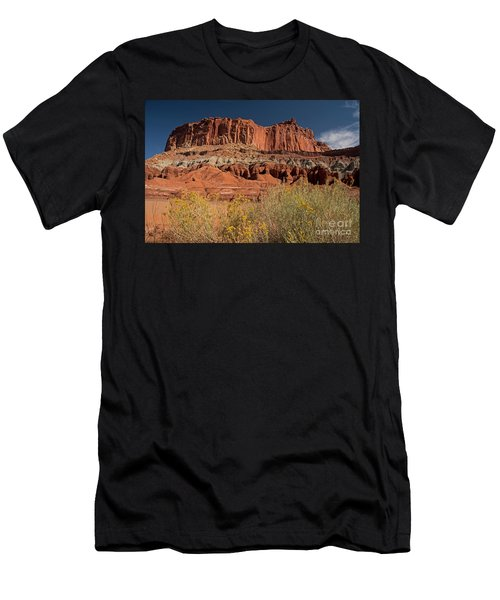 The Castle In Capital Reef Men's T-Shirt (Athletic Fit)