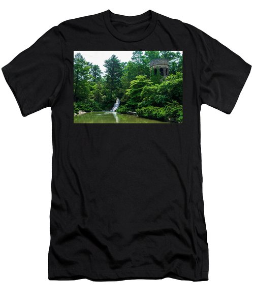 The Castle Tower At Longwood Gardens Men's T-Shirt (Athletic Fit)