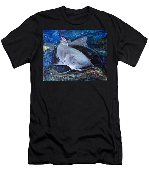 The Catfish And The Crawdad Men's T-Shirt (Athletic Fit)