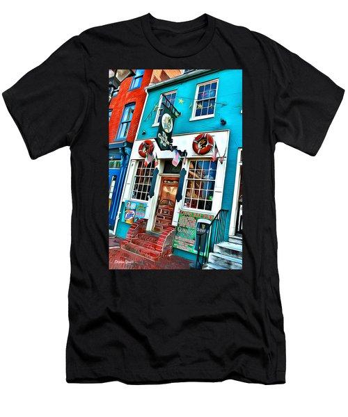 The Cat's Eye Pub Men's T-Shirt (Athletic Fit)