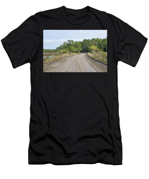 The Causway On Chisolm Island Men's T-Shirt (Athletic Fit)