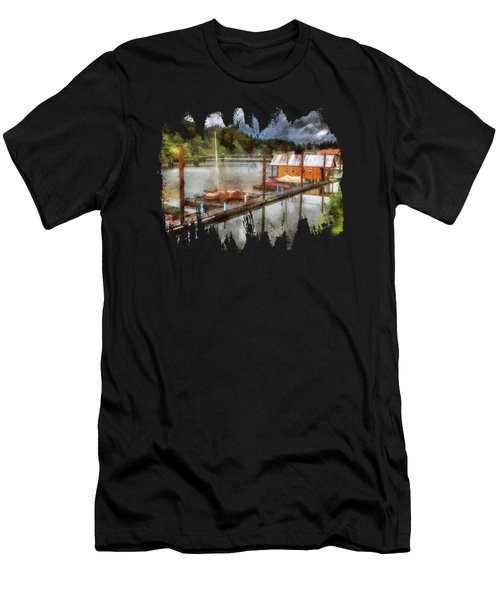 The Charming Port Of Toledo Men's T-Shirt (Athletic Fit)