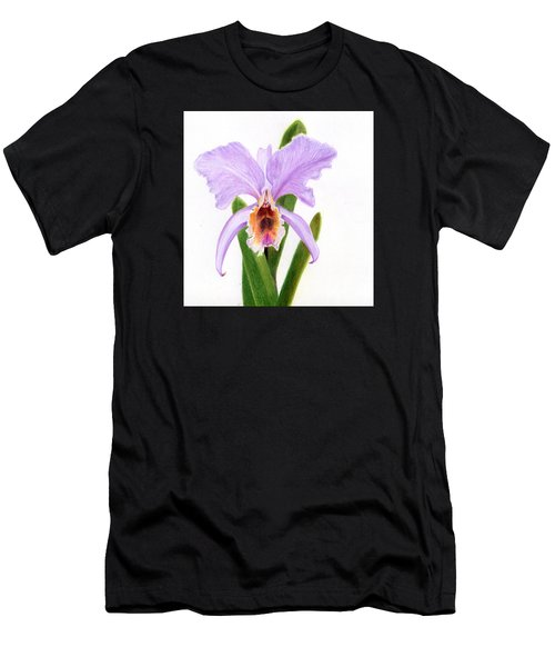 The Christmas Orchid Men's T-Shirt (Athletic Fit)