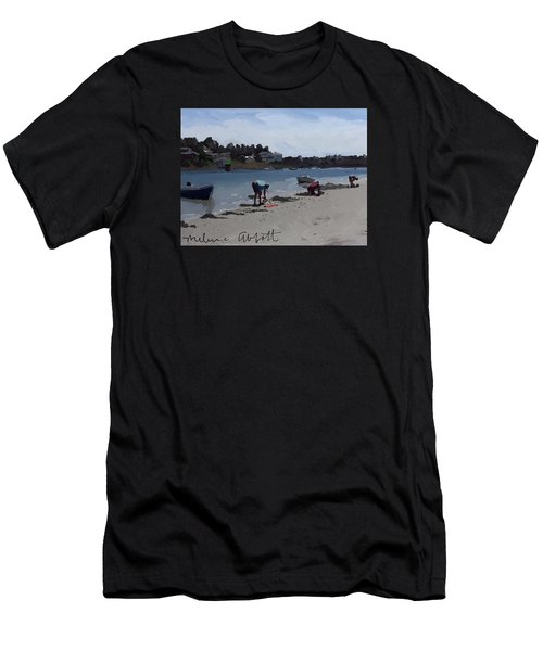 The Clam Diggers - Annisquam River  Men's T-Shirt (Athletic Fit)