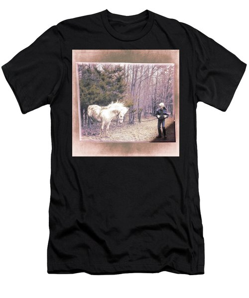The Classic Paso Fino Handstand Men's T-Shirt (Athletic Fit)