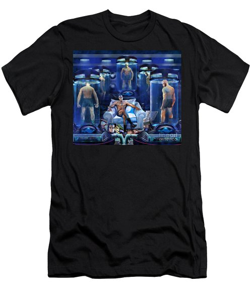 The Cloning The X Factor The Resurrection Of Malik El Shabazz Men's T-Shirt (Athletic Fit)