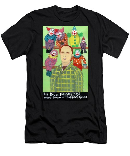 The Clown Collector Is Single Men's T-Shirt (Athletic Fit)