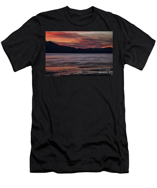 Men's T-Shirt (Slim Fit) featuring the photograph The Color Of Dusk by Mitch Shindelbower