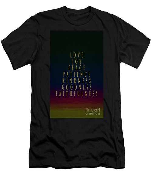 The Color Of Love Men's T-Shirt (Athletic Fit)