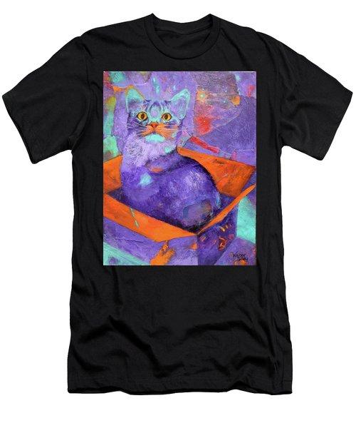 The Color Purrrple Men's T-Shirt (Athletic Fit)