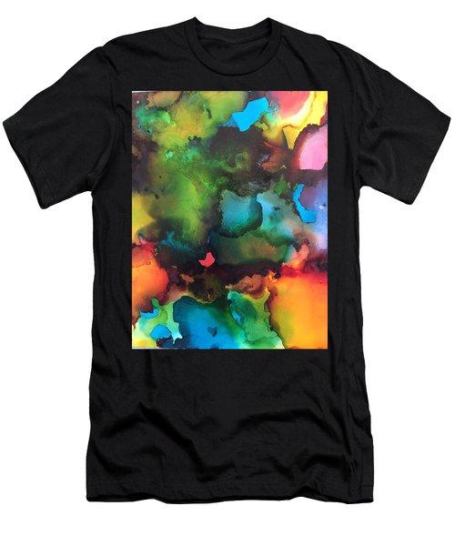 The Color Wheel Men's T-Shirt (Athletic Fit)