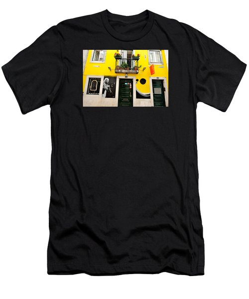The Colorful Bar Men's T-Shirt (Athletic Fit)