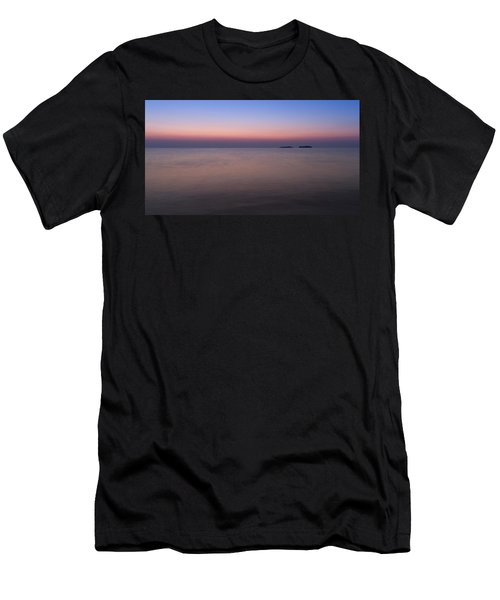 Dawn At The Mediterranean Sea Men's T-Shirt (Athletic Fit)