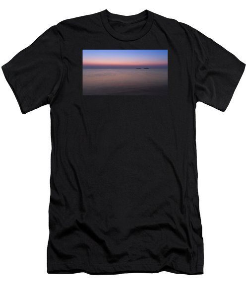 Dawn At The Mediterranean Sea Men's T-Shirt (Athletic Fit)