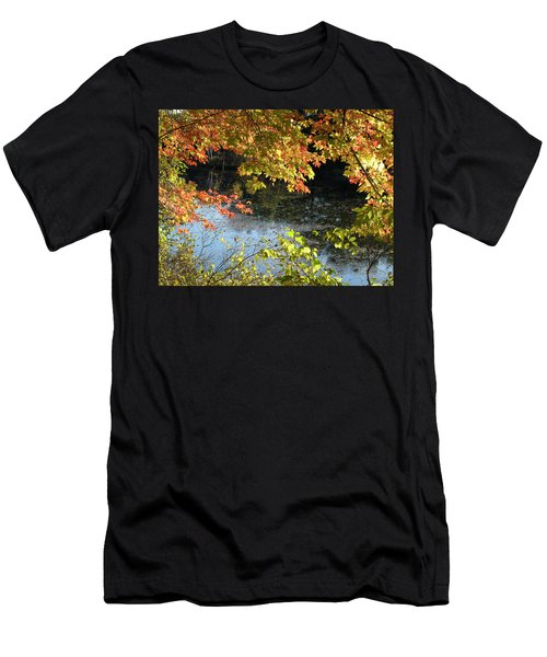 The Colors Of Fall Men's T-Shirt (Slim Fit) by Tara Lynn