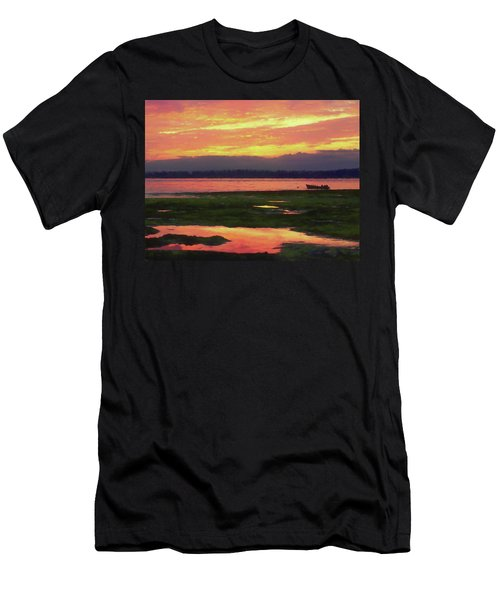 The Colors Of Ship Creek Men's T-Shirt (Athletic Fit)