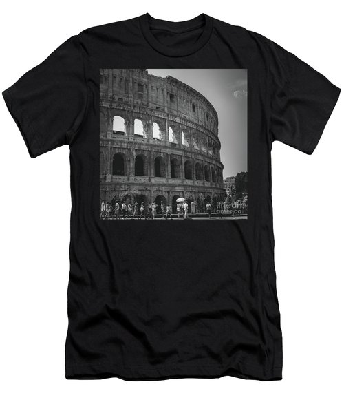 The Colosseum, Rome Italy Men's T-Shirt (Athletic Fit)
