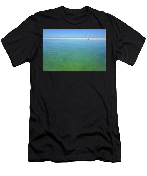 The Colours Of Paradise On A Summer Day Men's T-Shirt (Athletic Fit)