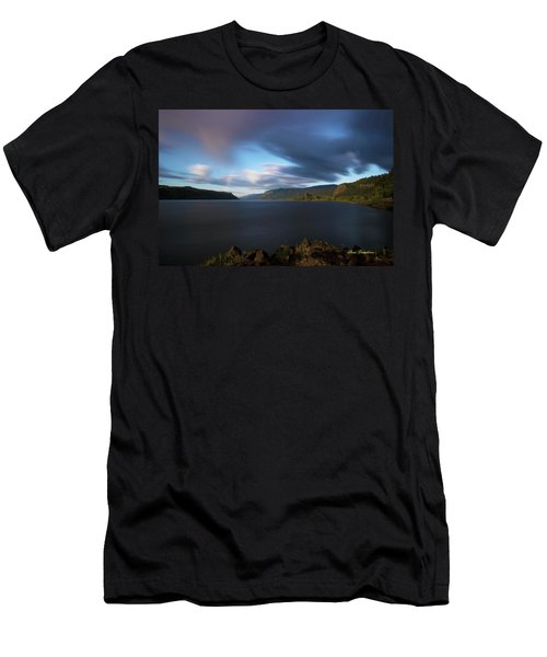 The Columbia River Gorge Signed Men's T-Shirt (Athletic Fit)
