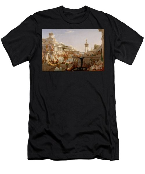 The Consummation The Course Of The Empire  Men's T-Shirt (Athletic Fit)