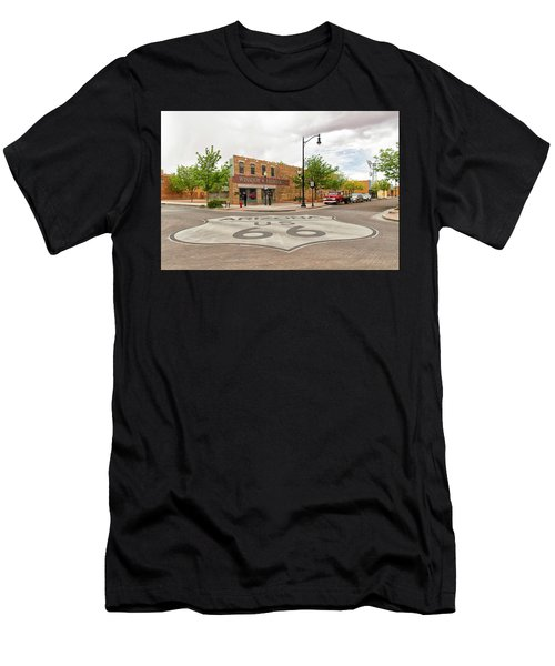 The Corner In Winslow Men's T-Shirt (Athletic Fit)