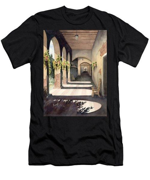 The Corridor 2 Men's T-Shirt (Slim Fit) by Sam Sidders