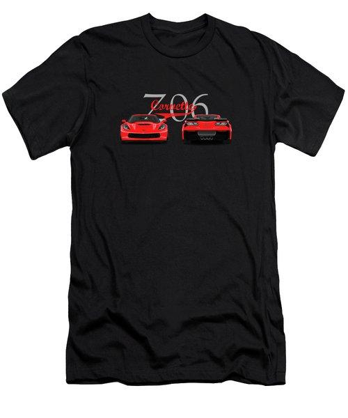 The Corvette Z06 Men's T-Shirt (Athletic Fit)