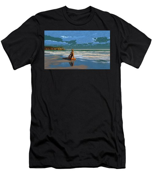 The Courtship Of Sand Men's T-Shirt (Athletic Fit)